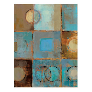 Abstract Pattern Post Card