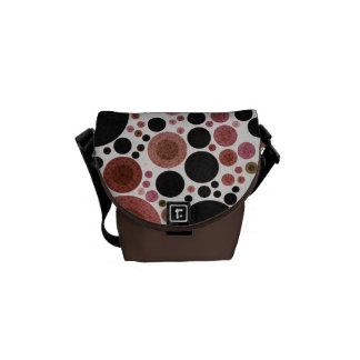 Abstract Pattern Rickshaw Mini Messenger Bag.