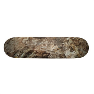 Abstract pattern skate board decks