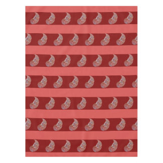 abstract pattern tablecloth