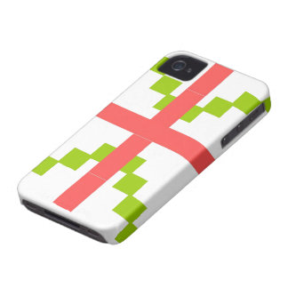 Abstract pattern theme iPhone 4 case