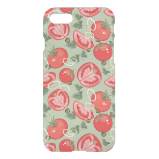 Abstract pattern with tomato iPhone 8/7 case