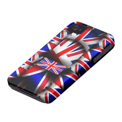 Abstract Patternize Union Jack Blackberry Bold Case-Mate Blackberry Case