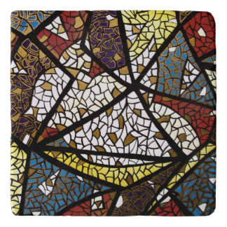 Abstract Peace Dove Trivet