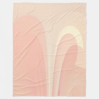 Abstract Peaches Shades Blanket