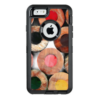 Abstract Pencil Crayons OtterBox iPhone 6/6s Case
