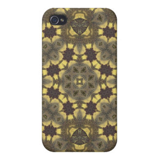 Abstract Pern  iPhone 4 Cover