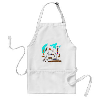 abstract person adult apron