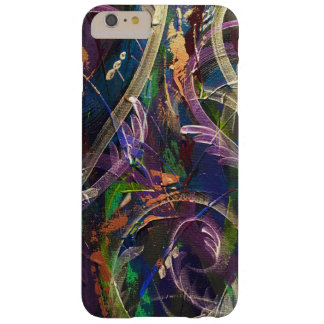 Abstract phone case in peacock