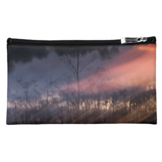 abstract photo small pocket makeup bag
