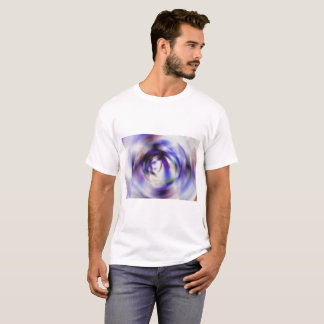 Abstract Photographic Drawing - Number 1 Swirl T-Shirt