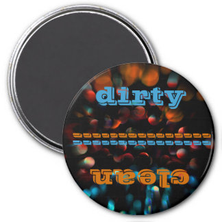 Abstract Photography 7.5 Cm Round Magnet