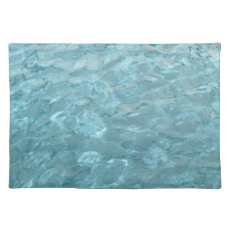 Abstract Photography Aqua Swimming Pool Water Placemat