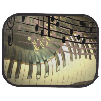 Abstract Piano Car Mats Floor Mat
