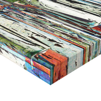 Abstract Piano Keys Canvas Print