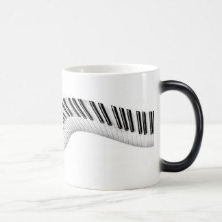Abstract Piano Keys Morphing Mug