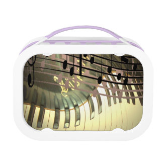 Abstract Piano Lunch Box Yubo Lunch Box
