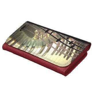 Abstract Piano Wallet