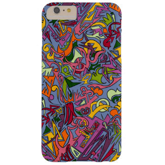 Abstract Picasso Style Barely There iPhone 6 Plus Case