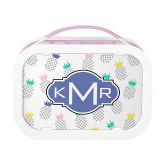 Abstract Pineapples | Monogram Lunch Boxes