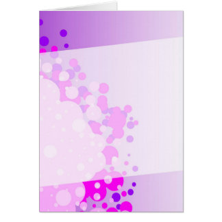 Abstract Pink Background Card