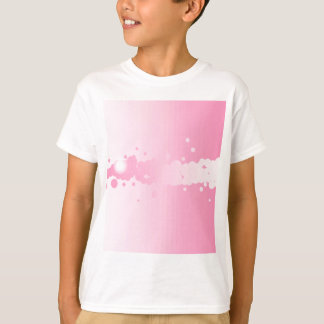 Abstract Pink Background T-Shirt