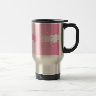 Abstract Pink Background Travel Mug