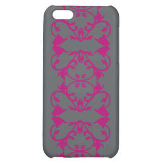 Abstract Pink Birds Vines Cover For iPhone 5C