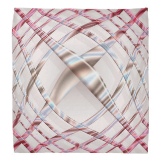 abstract pink dynamic pattern. bandana