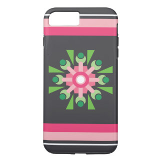 Abstract Pink Flower Case