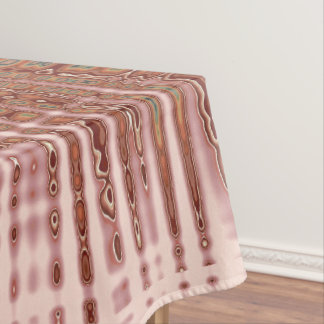 abstract pink glitter pattern tablecloth