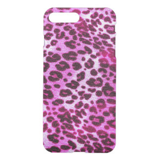 Abstract Pink Hipster Cheetah Animal iPhone 7 Plus Case