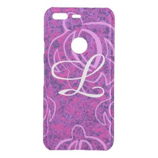 Abstract Pink Honu Uncommon Google Pixel Case