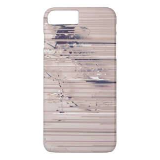 Abstract pink iPhone case