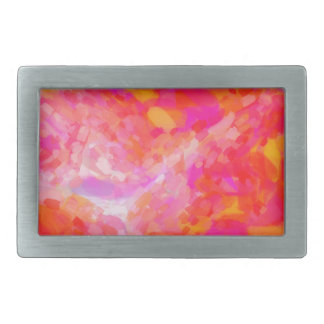 Abstract Pink Nebulla with Galactic Cosmic Cloud 3 Belt Buckle