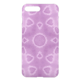 Abstract Pink Watercolor Love Hearts Pattern iPhone 7 Plus Case