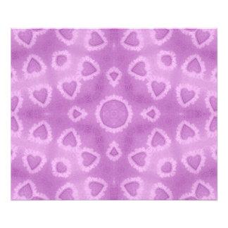 Abstract Pink Watercolor Love Hearts Pattern Photo Print