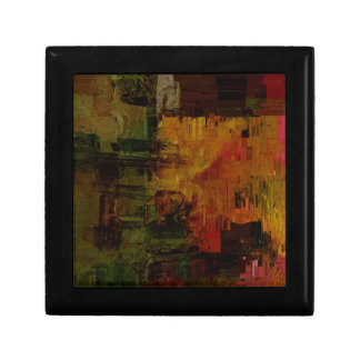 Abstract Pixelated Small Square Gift Box