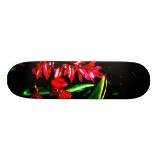 Abstract Plants 59 Version 2 Skate Board Deck