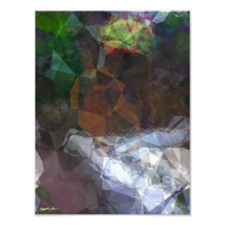Abstract Polygons 80 Photo Print
