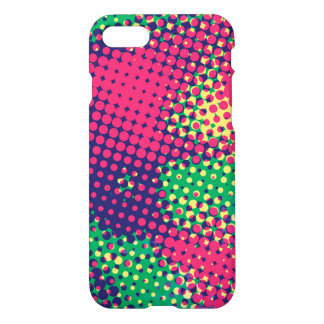 Abstract Pop Art Halftone Dots iPhone 7 Case
