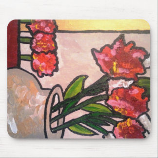 ABSTRACT POPPIES MOUSEPADS