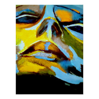 Abstract Portrait of a woman Painting - Art Prints