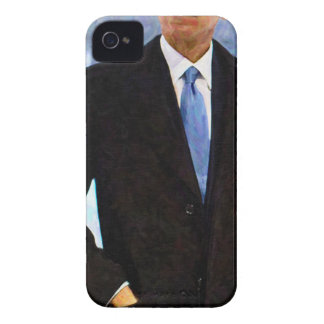Abstract Portrait of President Barack Obama 10 iPhone 4 Case