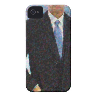Abstract Portrait of President Barack Obama 10a.jp iPhone 4 Case
