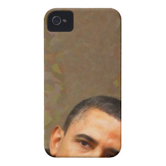 Abstract Portrait of President Barack Obama 11 iPhone 4 Cover