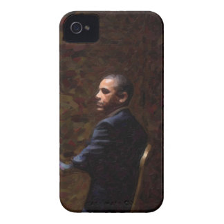 Abstract Portrait of President Barack Obama 13 Case-Mate iPhone 4 Case