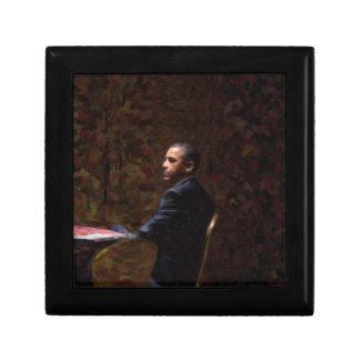 Abstract Portrait of President Barack Obama 13 Gift Box