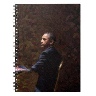 Abstract Portrait of President Barack Obama 13 Notebooks