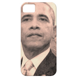 Abstract Portrait of President Barack Obama 30x30 iPhone 5 Cases